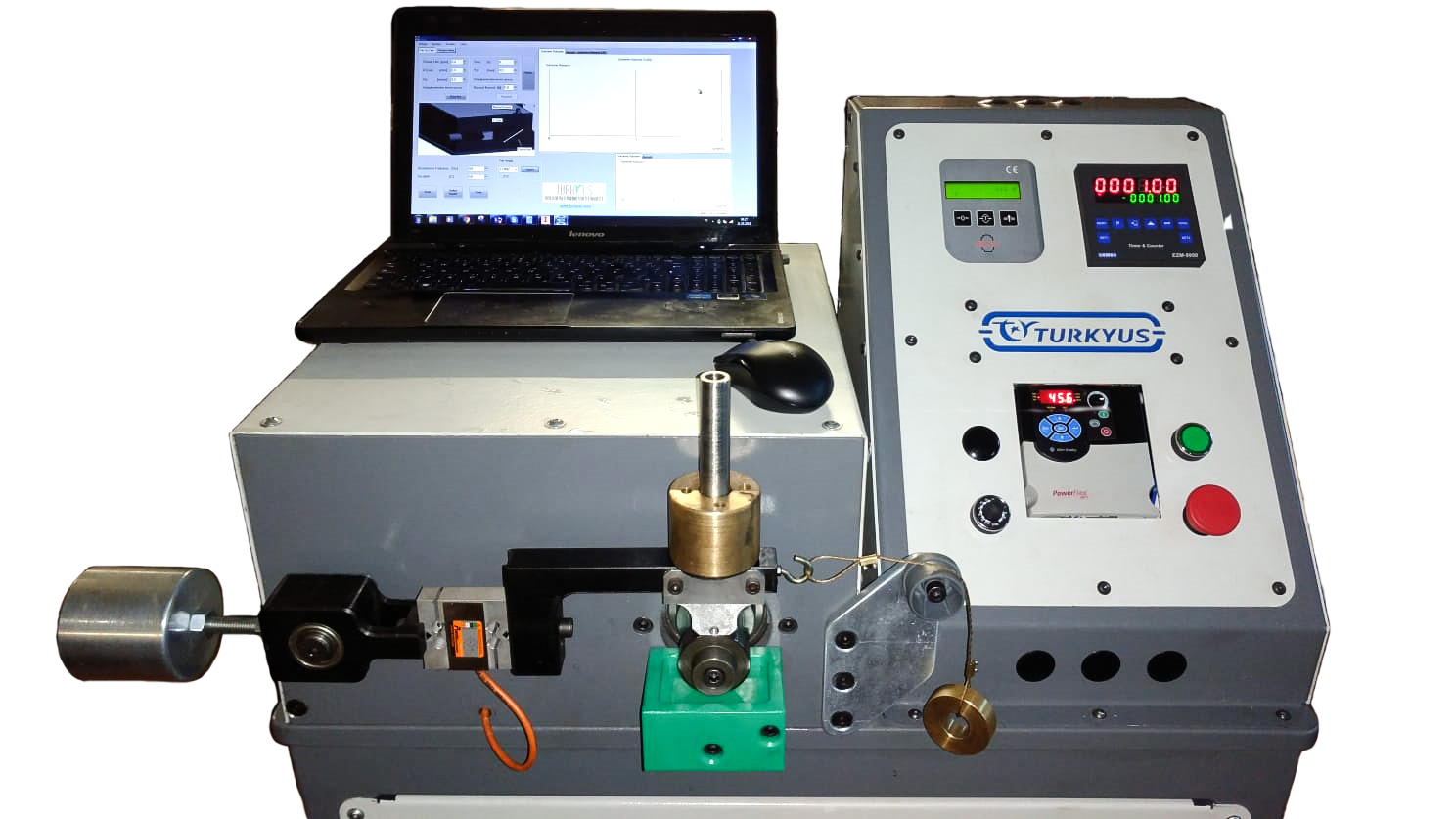 Blok On Ring Tribometer Test Cihazı