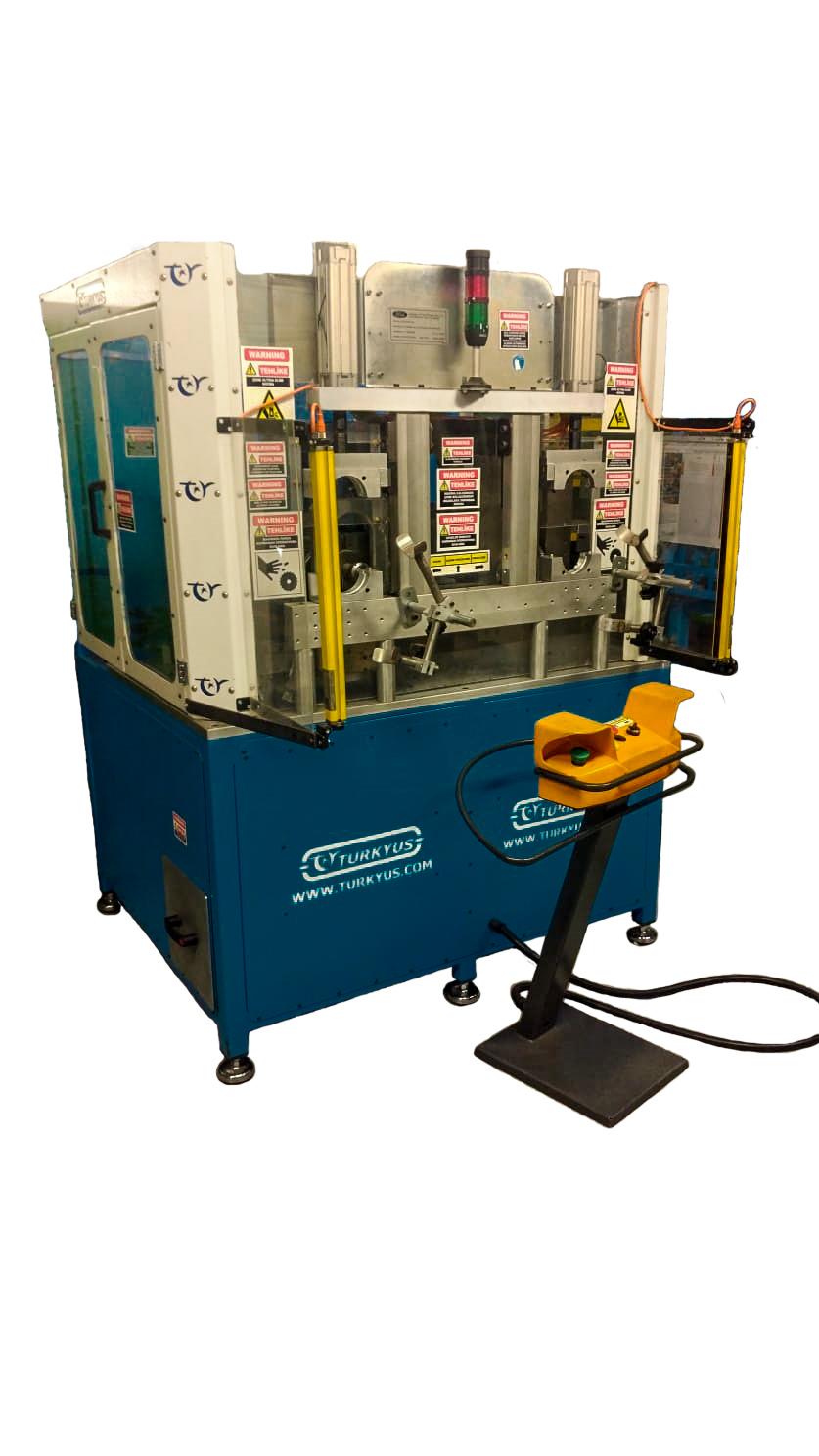 Intercooler Soğutma Borusu Frezeleme ve Boylama Makinası