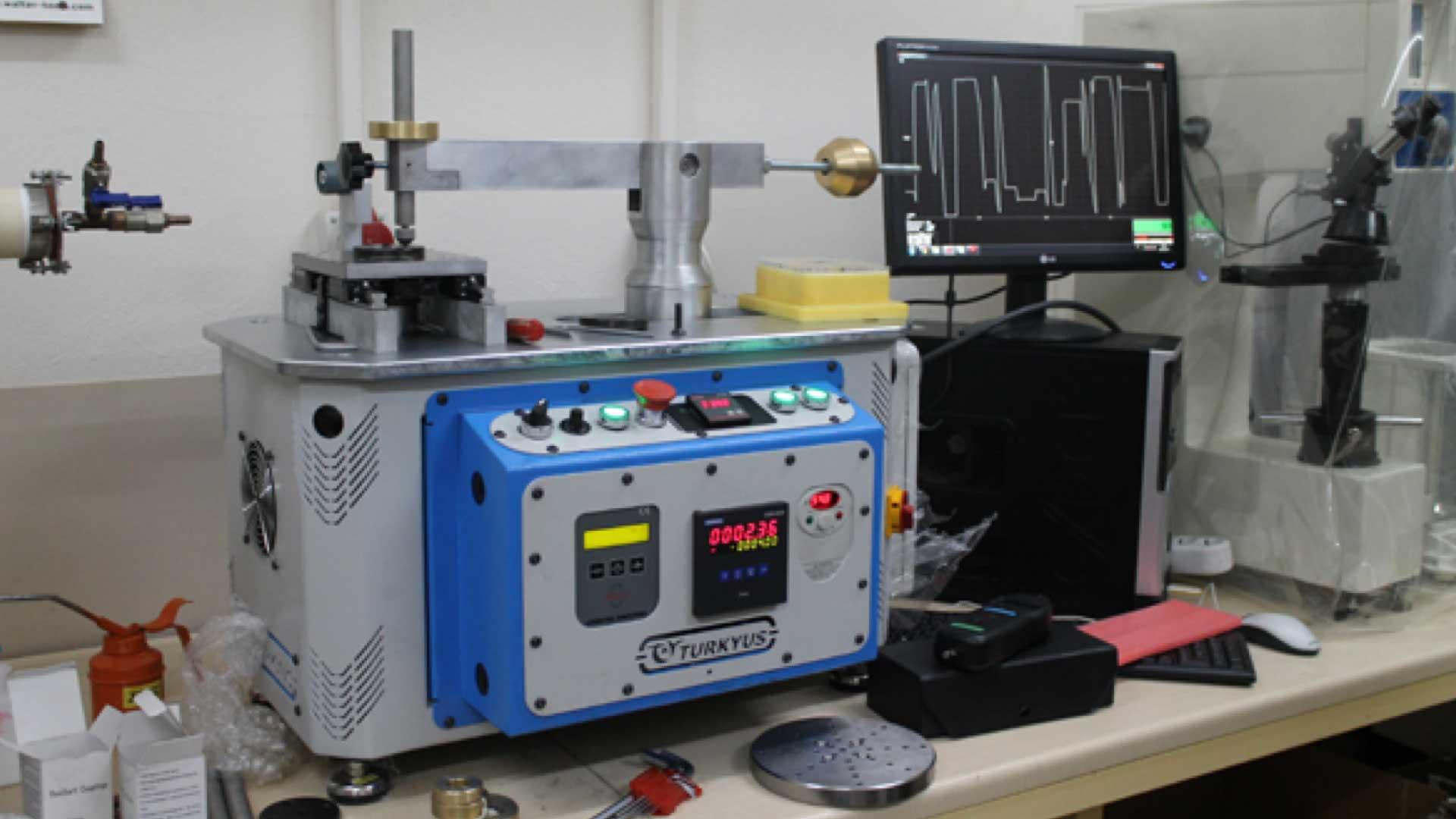 Linear İleri Geri Test Aşındırma Cihazı